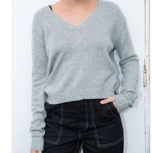 Brandy Melville Grey Leigh Sweater